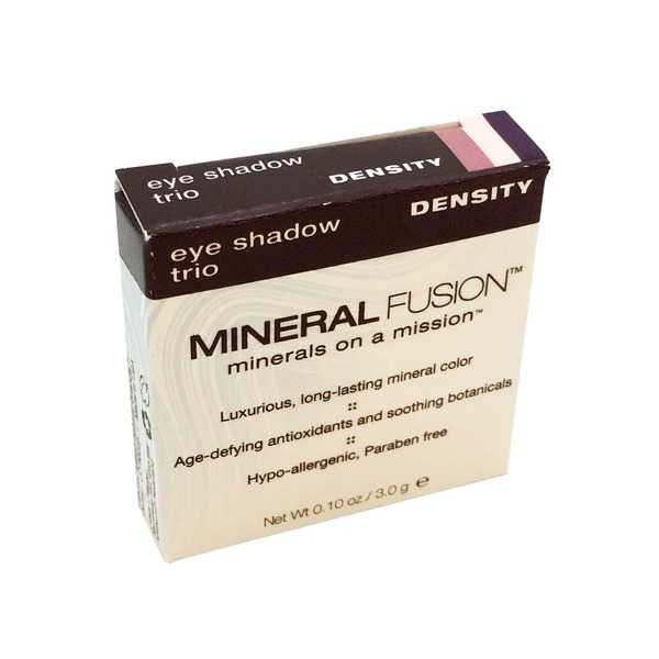 Mineral Fusion Eye Shadow Trio Density