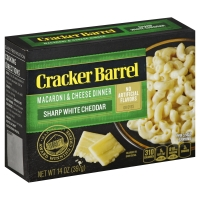 Cracker Barrel Vermont White Cheddar Macaroni & Cheese