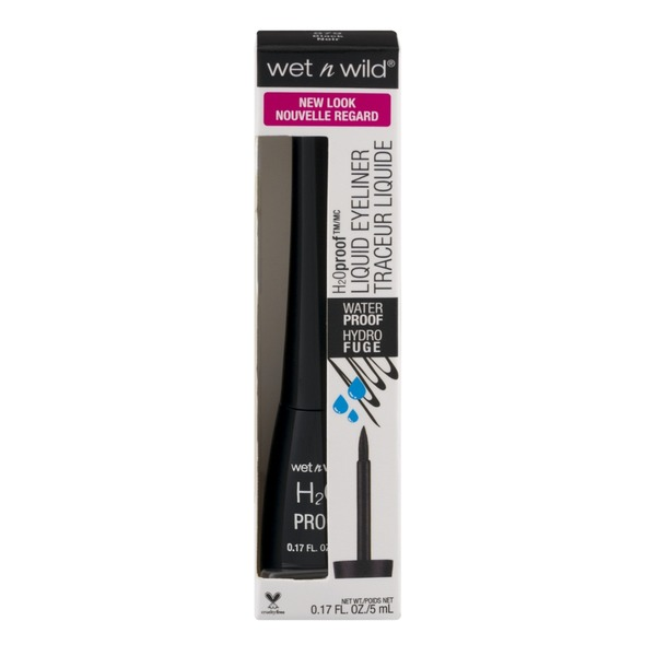 Wet n' Wild H2O Proof Liquid Eyeliner 879 Black