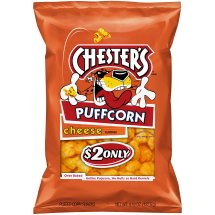 Chester's Puffcorn, Cheese, 4.5 oz Bag