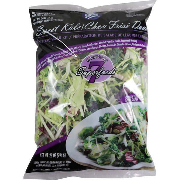 Eat Smart Sweet Kale Salad Mix