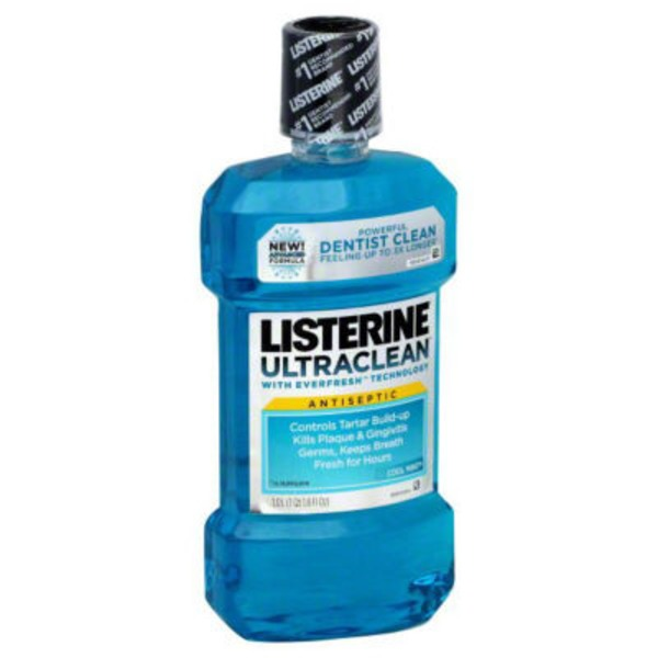 Listerine® ULTRACLEAN™ Cool Mint ULTRACLEAN™