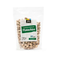 365 Unsalted Roasted Pistachios