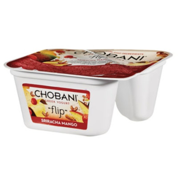 Chobani Flip Sriracha Mango Low-Fat Greek Yogurt