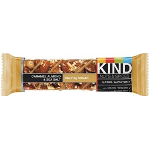 Kind Nuts & Spices Caramel Almond & Sea Salt Snack Bars