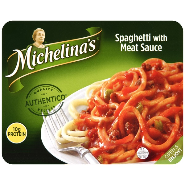 Michelina's Authentico Spaghetti with Meat Sauce