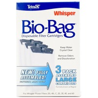 Tetra Filter Cartridges, Disposable, Large, 3 Pack