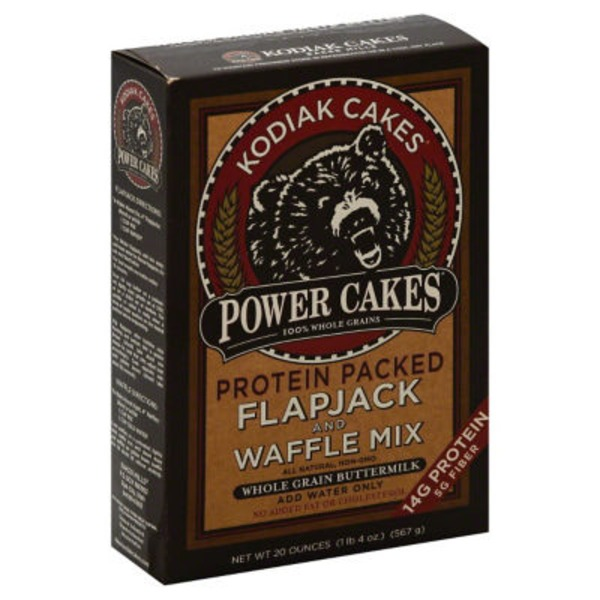 Kodiak Cakes Power Cakes Protein Packed Flapjack And Waffle Mix Whole Grain Buttermilk