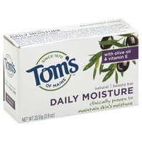 Toms of Maine Beauty Bar, Natural, Daily Moisture