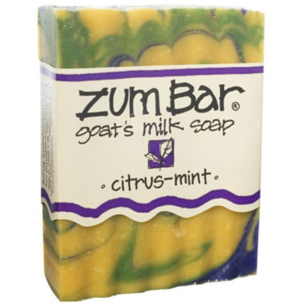 Indigo Wild/Zum Zum Bar Goat's Milk Bar Soap, Citrus-Mint