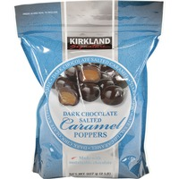 Kirkland Signature Dark Chocolate Caramel Popper