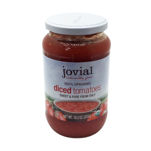 Jovial 100% Organic Diced Tomatoes