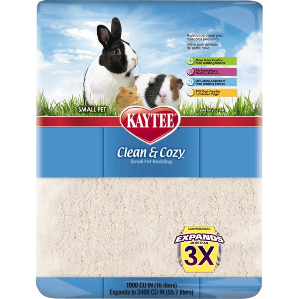 Kaytee Clean & Cozy Small Animal Bedding 1000 Cu. In.