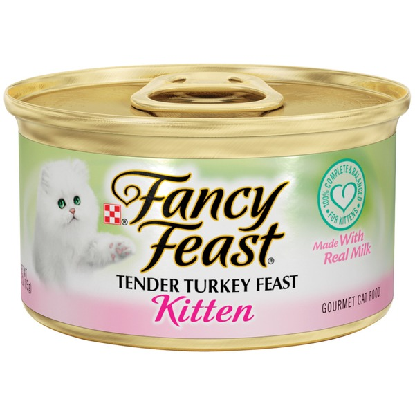 Fancy Feast Wet Kitten Tender Turkey Feast Cat Food