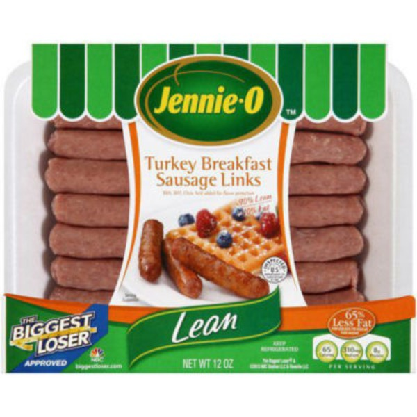 Jennie-O Lean Turkey Breakfast Sausage Links (040758)