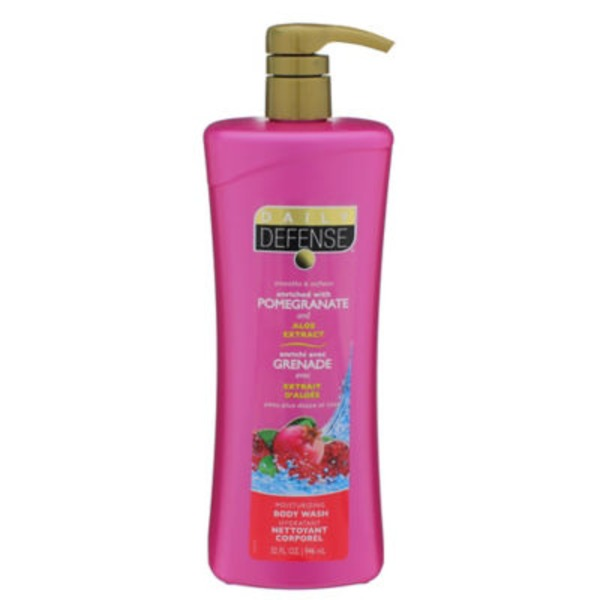 Daily Defense Spa Inspired Pomegranate & Aloe Body Wash