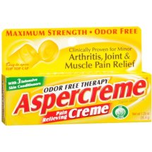 Aspercreme Odor Free Thearpy Pain Relieving Cream, 1.25 Oz