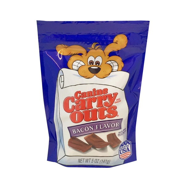 Canine Carry Outs Beef & Bacon Flavor Dog Snacks