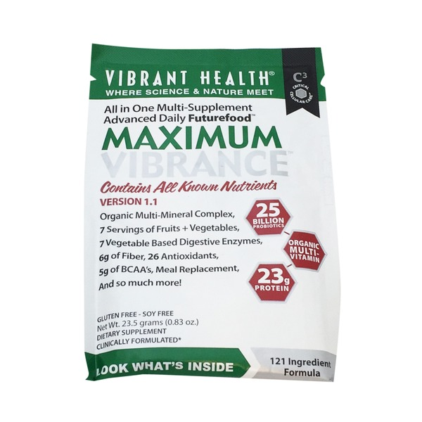 Vibrant Health Maximum Vibrance Daily Dietary Supplement