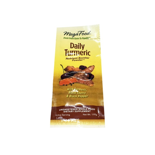 MegaFood Daily Turmeric Nutrient Booster Powder One Serving