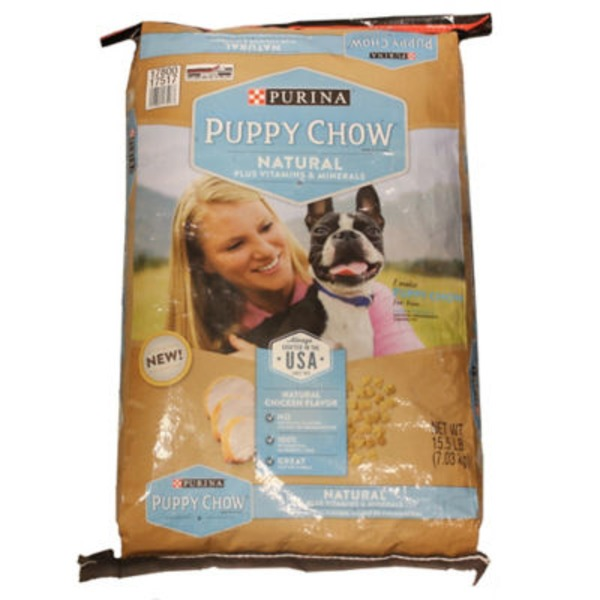 Puppy Chow Natural Natural Plus Vitamins & Minerals Dog Food