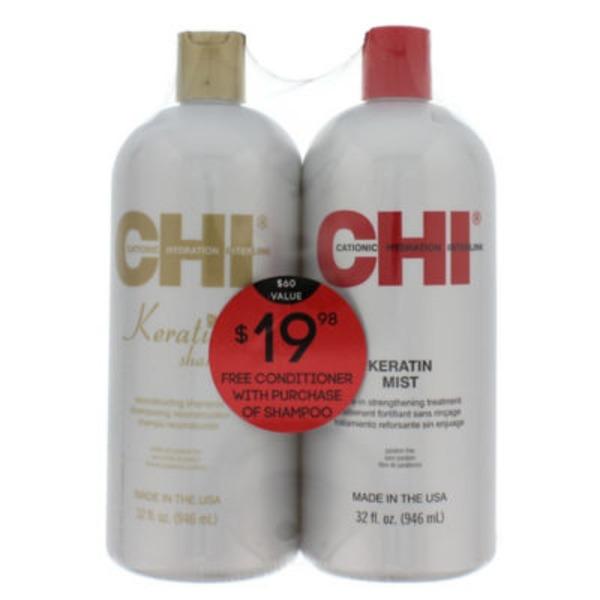 Chi Keratin Shampoo And Conditioner Duo