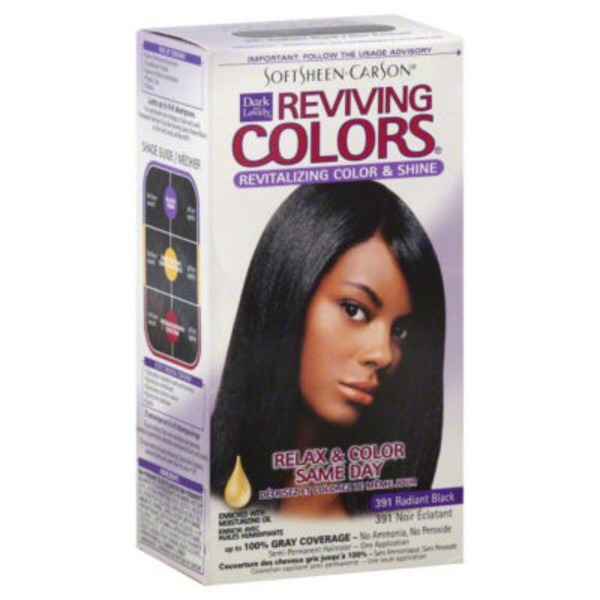 Dark and Lovely For All Hair Types Reviving Colors
