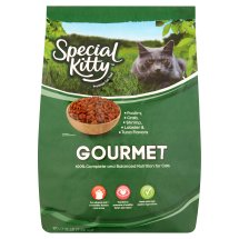 Special Kitty Gourmet Formula Dry Cat Food, 16 Lb