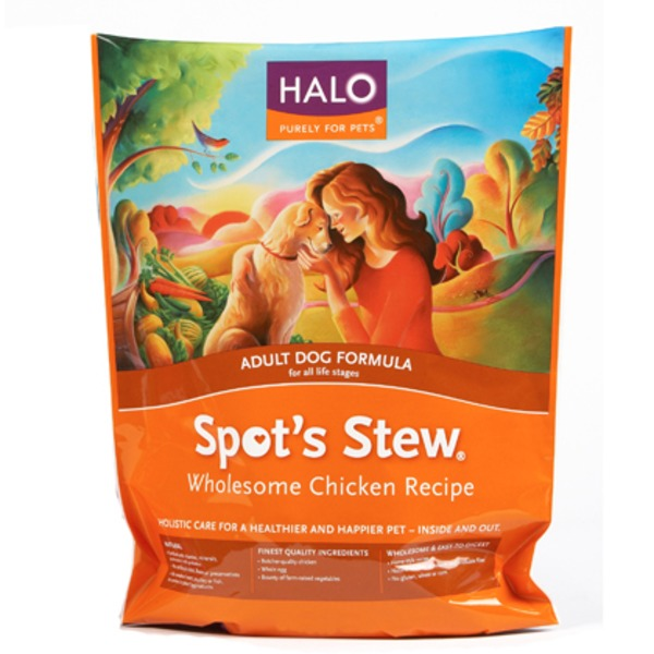 Halo Spot's Stew - Adult Dog Food Formula - Wholesome Chicken