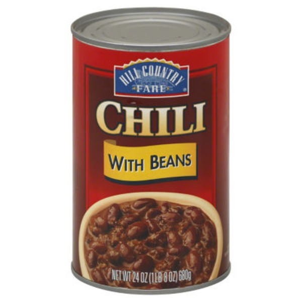 Hill Country Fare Chili With Beans