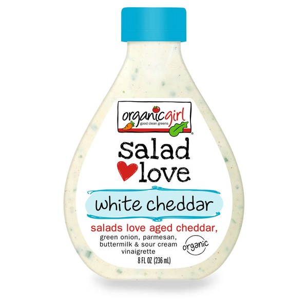 Organic Girl Salad Love White Cheddar Vinaigrette