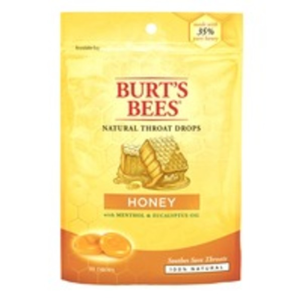 Burt's Bees Natural Throat Drops Honey - 20 CT