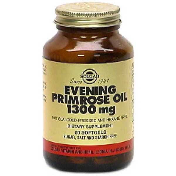 Solgar Evening Primrose Oil Softgels 1300 Mg
