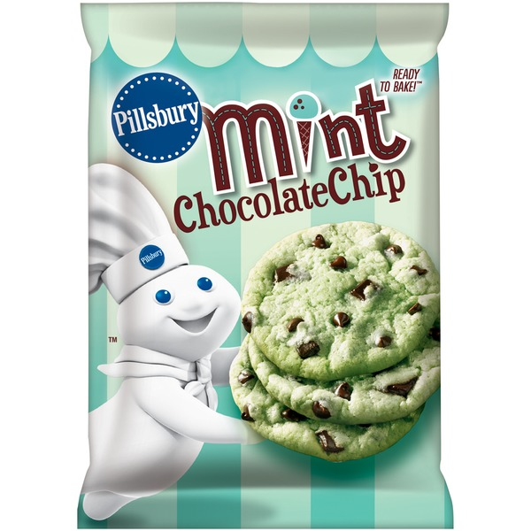 Pillsbury Ready to Bake! Mint Chocolate Chip Cookies