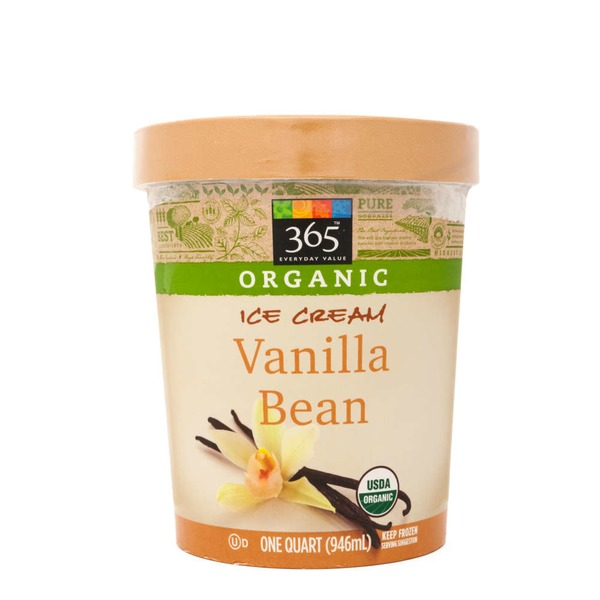 365 Organic Vanilla Bean Ice Cream