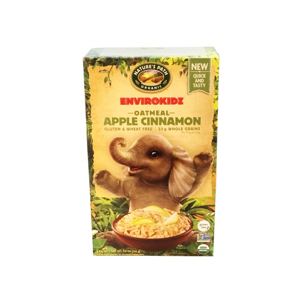 Nature's Path Organic EnviroKidz Apple Cinnamon Oatmeal