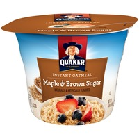 Quaker Oatmeal Maple Brown Sugar Instant Oatmeal