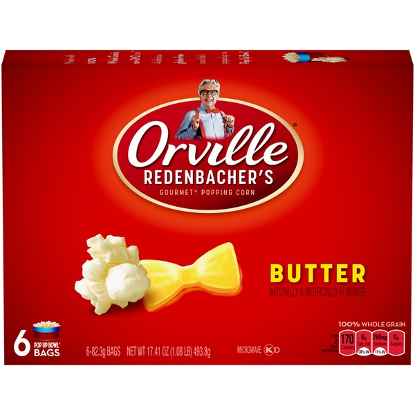 Orville Redenbacher's Pop Up Bowl Butter Microwave Popcorn
