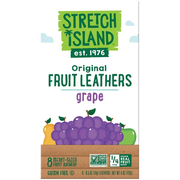 Stretch Island Fruit Original Grape Fruit Leathers