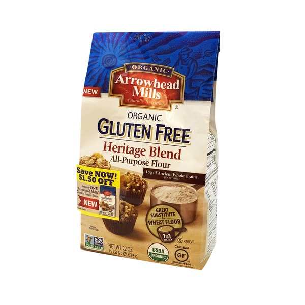 Arrowhead Mills Organic Heritage Blend All Purpose Flour