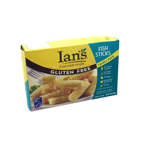 Ian's Friendly Foods For Life Fish Sticks Family Pack