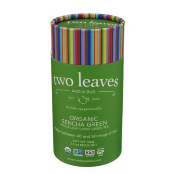 Two Leaves and a Bud Organic Green Sencha Tea