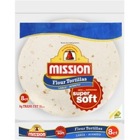 Mission Flour Large Burrito 8 ct Tortillas