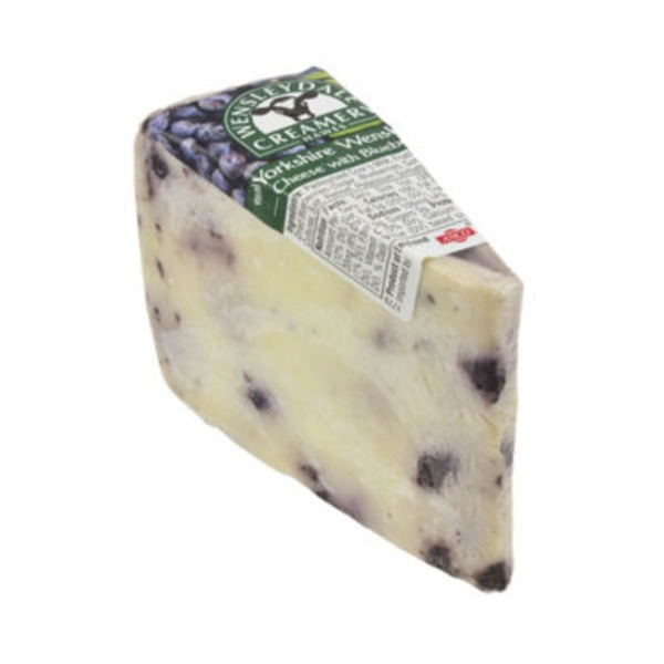 Wensleydale Yorkshire Cheese With Blueberries