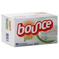 Bounce Fabric Softener Sheets Dye And Perfume Free