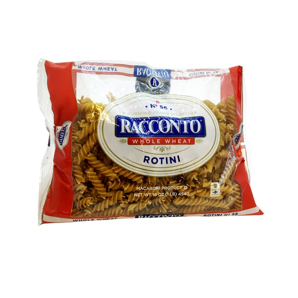 Racconto Rotini, No. 56, 100% Whole Wheat
