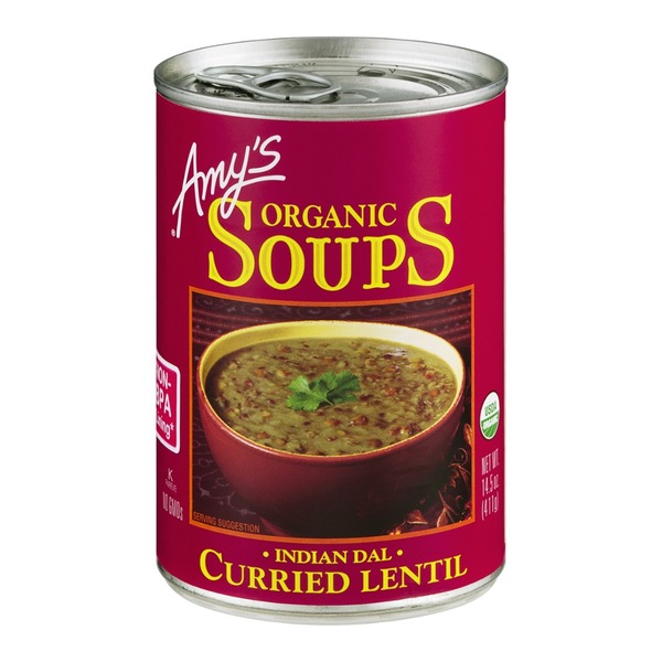 Amy's Organic Soups Indian Dal Curried Lentil