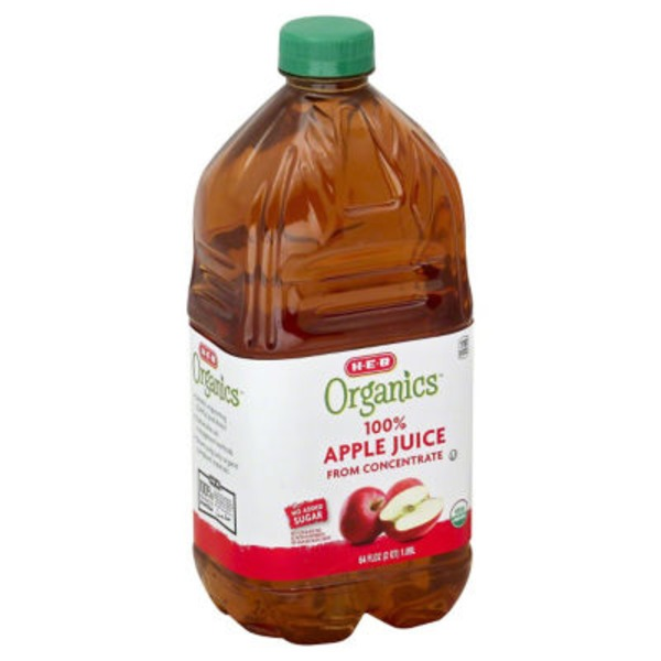 H-E-B 100% Organics Apple Juice