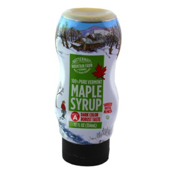 Butternut Mountain Farm Maple Syrup, 100% Pure Vermont