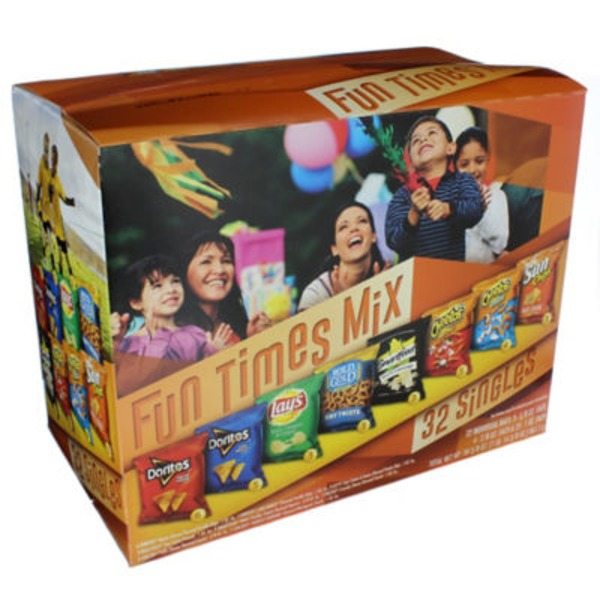 Frito Lays Frito Lay Snacks Fun Times Mix - 32 CT